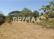 Re/max partners vende, terrenos sector el polvero,