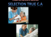 Personal confiable y seguro selection true c.a