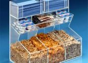 Fabrica de cajas acrilicas exhibidoras fruto seco
