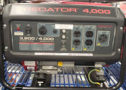 Planta electrica 4000 watt 400 verdes