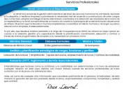 Especialista en rrhh (solvencia laboral, nómina..)