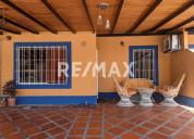 Remax/partners vende casa en res. los budares