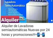 Alquiler de lavadora falion