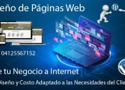 Diseño de paginas web al mejor precio y planes