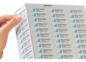 Caja 200 hojas etiquetas inkjet y laser