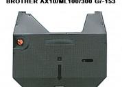 Cintas máquina escribir brother/ ax10 ml100 gr-153