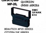 Cinta dp-600 citizen/quorion/bematech mp20 /bmc