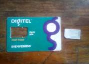 Chip comercial de recargas digitel
