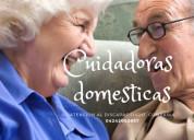 Cuidadoras internas atencio al anciano