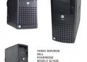 Vendo  servidor dell modelo 1420 poweredge.