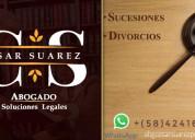 Abogado/ sucesiones & divorcios