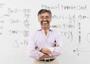 Profesor retirado de física/ingeniería  a destajo