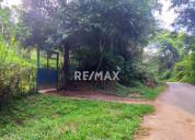 Re/max partners vende terreno 6 hectáreas yagual