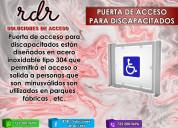 Puerta de acceso para discapacitados - rdr solucio