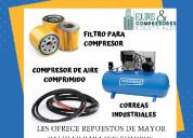 Filtro coalescentes y de linea para aire comprimid