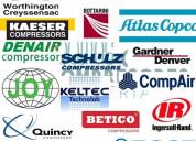 Marcas de compresores industriales