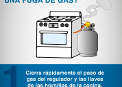 Reparacion fuga de gas en cocinas hornos