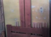 Cama individual madera sin colchón sin envío