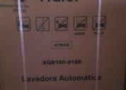 Vendo lavadora automática nueva de 12 kg haier