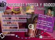 Servicio de fotografia erotica y boudoir