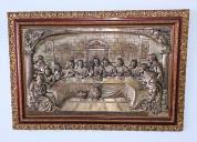Cuadro de la ultima cena de jesús y sus discípulos